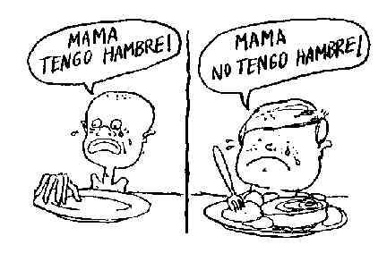 LOS HIJOS DEL HAMBRE NO TIENEN MAÑANA. CANTECA DE MACAO