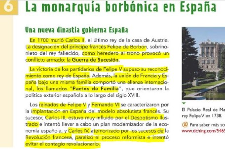 LA MONARQUÍA BORBÓNICA EN ESPAÑA + JOVELLANOS UN ILUSTRADO ESPAÑOL