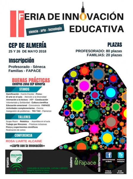 II FERIA DE INNOVACIÓN EDUCATIVA. TALLER DE CORTOMETRAJE