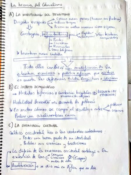 09. LA HERENCIA DEL COLONIALISMO