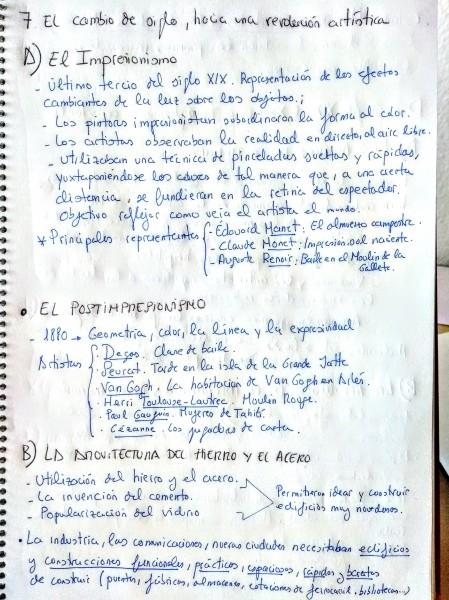 IMPRESIONISMO, POSTIMPRESIONISMO. ARQUITECTURA DEL HIERRO Y EL ACERO