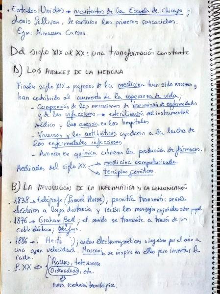 CIENCIA Y TECNOLOGÍA SIGLO XIX Y XX