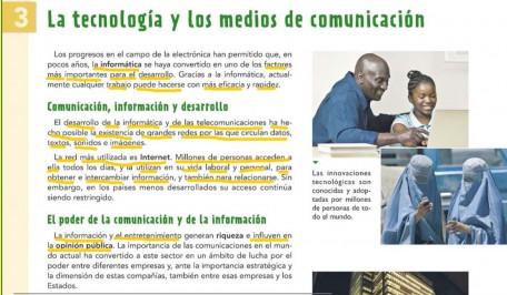 LA TECNOLOGÍA Y LOS MEDIOS DE COMUNICACIÓN