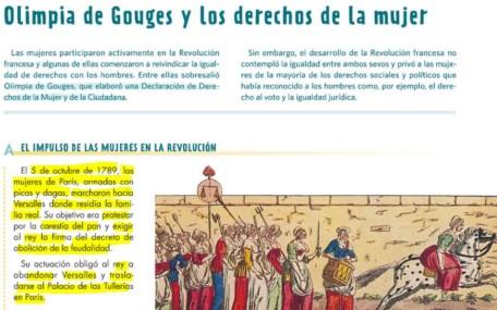 OLIMPIA DE GOUGES Y LOS DERECHOS DE LA MUJER