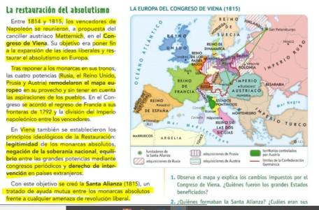 ENTRE EL ABSOLUTISMO Y EL LIBERALISMO. REVOLUCIONES 1820.1830 Y 1848. UNIFICACIÓN ALEMANA E ITALIANA