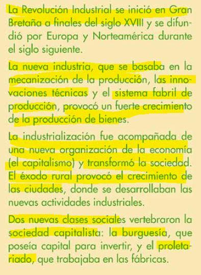 TEMA 3. EL ORIGEN DE LA INDUSTRIALIZACIÓN