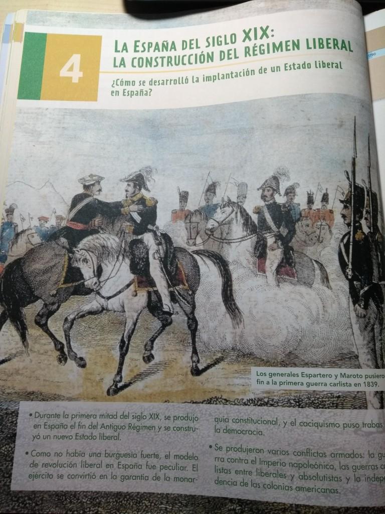 LA ESPAÑA DEL SIGLO XIX: LA CONSTRUCCIÓN DEL RÉGIMEN LIBERAL (DIVER/ATAL)