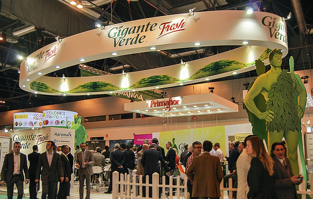 Gigante Verde Fresh Spain : Gráfica Stand - Fruit Attraction 2013