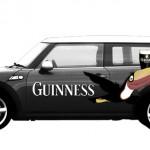 Campaña Guiness: Rotulación Mini